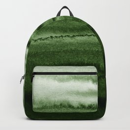 WITHIN THE TIDES FOREST GREEN by Monika Strigel Backpack
