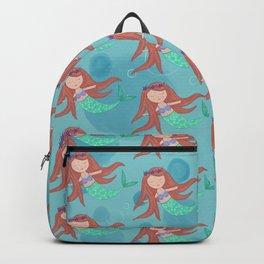 Peaceful Mermaid Backpack