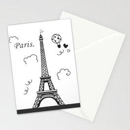 Paris Of Dream Stationery Cards