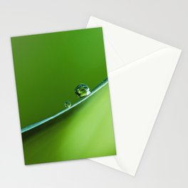 drops on the edge Stationery Cards