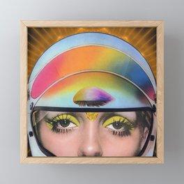 Above Framed Mini Art Print