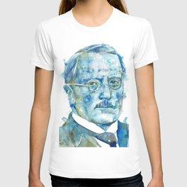 CARL JUNG - watercolor portrait T-shirt