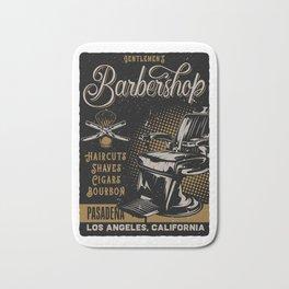 Gentlemen's Barber Shop LA Bath Mat