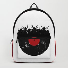 Vinyl record party Backpack