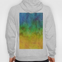 Crumpled Paper Textures Colorful P 321 Hoody