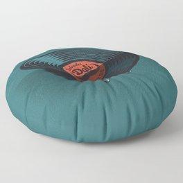 Hot Record Floor Pillow