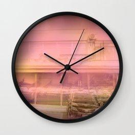 Red tavern Wall Clock