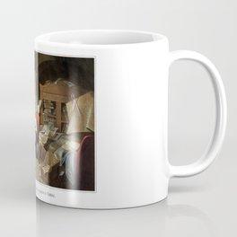 Lincoln Writing The Proclamation Of Freedom Coffee Mug
