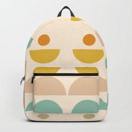 Abstraction_SUN_SUMMER_JOY_POP_ART_Minimalism_001V Backpack