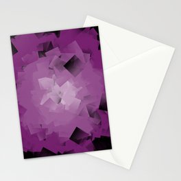 purple tissue Stationery Cards