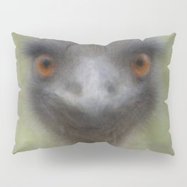 Emu Overlay Pillow Sham