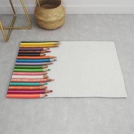 Colored pencil 10 Rug