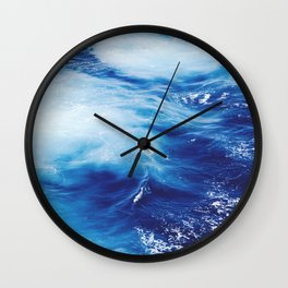troubled water 2 Wall Clock
