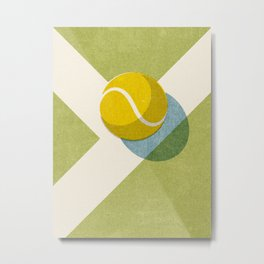 BALLS / Tennis (Grass Court) Metal Print