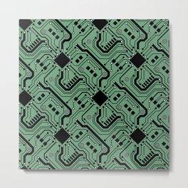 Printed Circuit Board - Color Metal Print