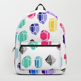Colorful Gemstones Backpack