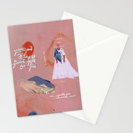 portrait of a lady on fire iii Stationery Cards