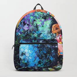 Little tree in space Backpack