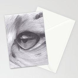 Cheetah Eye Drawing Stationery Cards