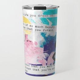 Made of beauty by Kasia Avery Travel Mug