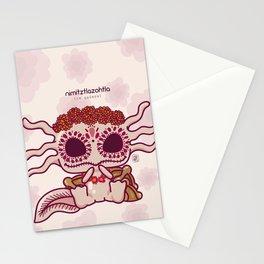Kawaii Axolotl Stationery Cards