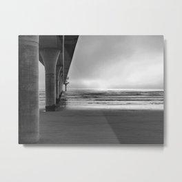 A Misty Morn Metal Print