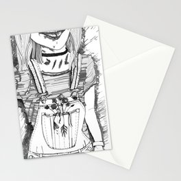 overalls Stationery Cards
