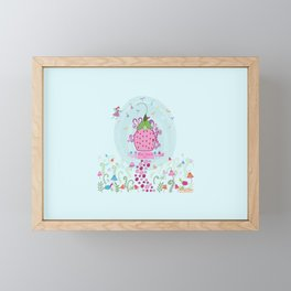 Magic Happens Here Framed Mini Art Print