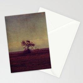 tree landscape Stationery Cards