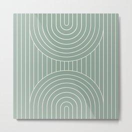 Arch Symmetry XXVIII Metal Print