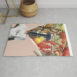 thoughts on the menu Rug