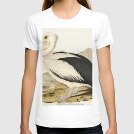 Pied oyster-catcher from Birds of America (1827) by John James Audubon etched by William Home Lizars T-shirt