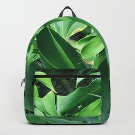 Jungle Palm Leaves Backpack