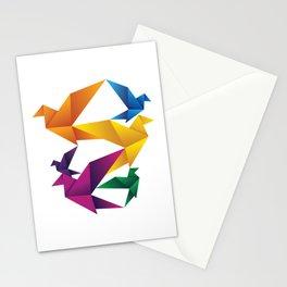 Folded Flight Stationery Cards