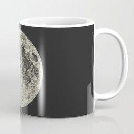 Telescopic View of the Moon | Vintage Astronomy Illustration Coffee Mug