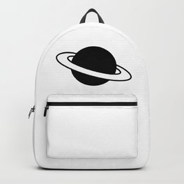 Saturn Planet Ring Icon Backpack