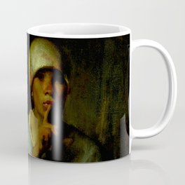 "Jean-François Millet ""Woman and Child (Silence)"" Coffee Mug"