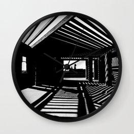 Shadows and Light Wall Clock