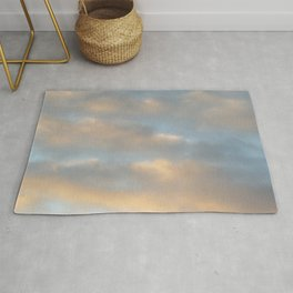Clouds Light Rug