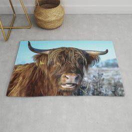 Beef Fur Livestock Rug