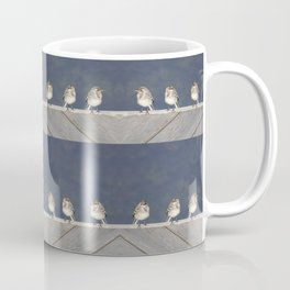 Wagtail chicks Coffee Mug