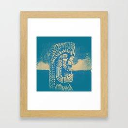 Ku #1 Framed Art Print