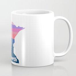 Up North Minnesota Blush Sunset Coffee Mug