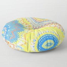 Mandala Love 2 Floor Pillow