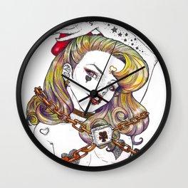 Sailor Venus Fanart Wall Clock