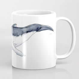 Baby humpback whale (Megaptera novaeangliae) Coffee Mug