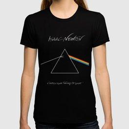 Isaac Newton - Corpuscular Theory of Light T-shirt