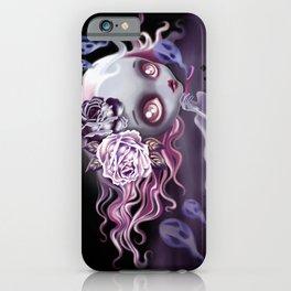 Ghostly Luna iPhone Case