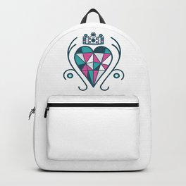 Queen of Hearts Backpack