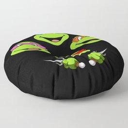 Ninja Turtles Rhapsody Floor Pillow